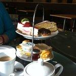John Lewis fab cream tea
