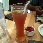 Iced tea. Generous in size, and very tasty.