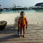 Kids' Club snorkel activity