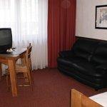 Hotelzimmer vor Bezug