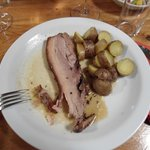 traditional roast with potatoes