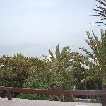 Udsigten fra terrassen..
