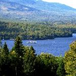 Watch the Katahdin float by from the Lodge on a warm summer day.