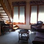 lower level of duplex room