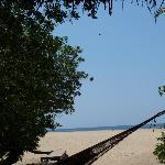 Beach view from La Isla