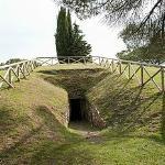 Etruscan Tomb at Monte Calvario