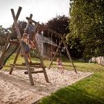 Garden with playground
