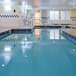Indoor pool and whirlpool for exercise and fun