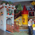 Play Area and Stage