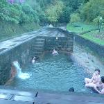 Thermal pool (hot as a bath)