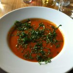 Wild Garlic Tomato Soup