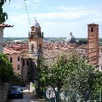 Pietrasanta, Blick auf die Stadt