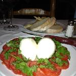 caprese salad - excellent