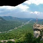 Chimney Rock .6 miles from the Esmeralda
