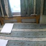 La lunghezza della stanza è quanto quella di un letto