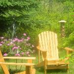 outside relaxing area