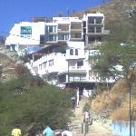 esta es la nueva imagen del hotel y su acceso principal