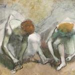 Edgar Degas Frieze of Dancers 1895