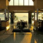 The beach club inside