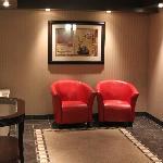 rest area next to elevator