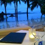 Gorgeous view from dinner table