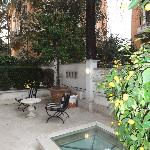 Our shared patio