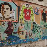 El Tahrir St Egyptian martyrs