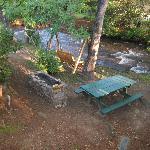 Creek & Grill Area