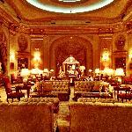 Lobby area at El Palace