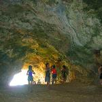 Exit of Cuenco Cave on the other side.