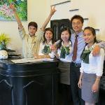 Such friendly staff