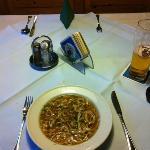 Gasthof Post: Dinner: Soup