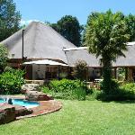 Hotellet med pool