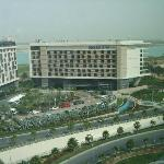 View of the other hotels next to Rotana (Leisure Drive?)