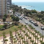 Вид с балкона отела Галил