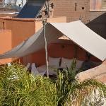 un petit coin de terrasse