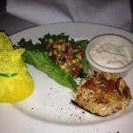 Lobster and Crab Cake starter at Capital Grille Naples