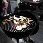 Das vegetarische Grillgut (Fleisch gibts natürlich ausreichend)