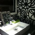 Vue de la salle de bain