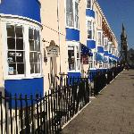 The Seaham - amongst a row of B&B's