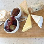 Irish &French Farmhouse cheeseboard