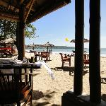 My favorite restaurant on the beach