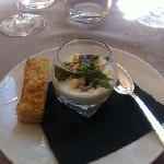 fromage: mousse au parmesan
