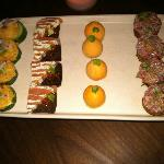 Phenomenal hors d'oeuvres