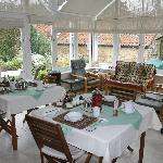 Great breakfasts served in the beautiful conservatory