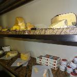 The amazing cheese room!
