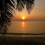 Le soir, le soleil se couche. Et c'est beau !