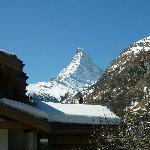 Balcony view of the Matterhorn