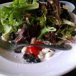 $8.00 salad BEFORE taking a bite. I've had bigger 3.00 salads!
