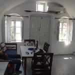Inside villa - living room